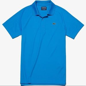 NWOT Lacoste Sport Ultra Dry Polo